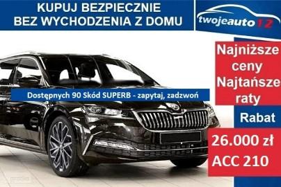 Skoda Superb III Laurin&Klement 2,0 TDI 200 KM DSG 4x4, bezdotykowa klapa, bogaty !