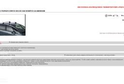 9416A4 ZESTAW DWÓCH ORYGINALNYCH POPRZECZNYCH BELEK DACHOWYCH ALUMINIUM C4 PICASSO CENA SPECJALNA CITROEN LUBLIN 590 ZŁ Citroen C4 Picasso