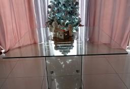 Szklany stół kwadrat