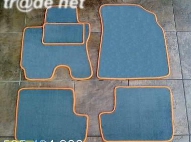 Toyota Rav-4 5-drzwi 2000-2005 najwyższej jakości dywaniki samochodowe z grubego weluru z gumą od spodu, dedykowane Toyota RAV 4-1