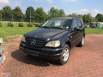 Mercedes-Benz Klasa ML W163 ML 270 CDI , SKORA WENTYL , AUTOMAT, BEZWYPADKOWY