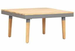 vidaXL Ogrodowy stolik kawowy, 60x60x31,5 cm, lite drewno akacjowe46469