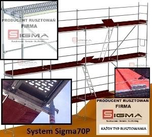 RUSZTOWANIE elewacyjne 331m2 -DOSTAWA GRATIS- Firma SIGMA Rusztowania