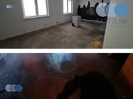 Sprzątanie po zalaniu fekaliami Wrocław - Kastelnik, dezynfekcja piwnic