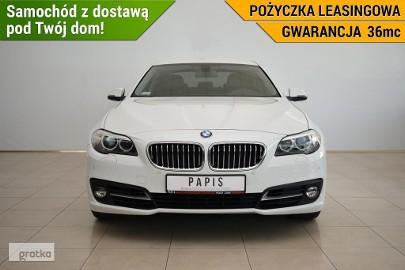 BMW SERIA 5 520 1Właściciel ASO Bluetooth Tempomat Skóra Automat PAPIS