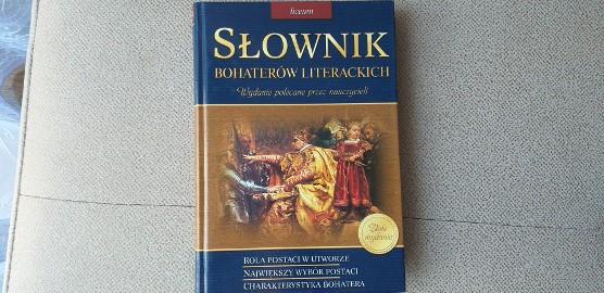 Słownik Bohaterów Literackich książka