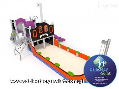1008 Statek zestaw zabawowy plac zabaw-1
