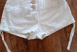 Spodenki Tiffi białe krótkie S