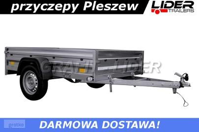 LTK-20 przyczepa 200x125x32cm, lekka, towarowa, DMC 750kg