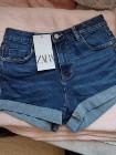 (36/S) ZARA/ Krótkie spodenki, dżinsowe szorty z Madrytu