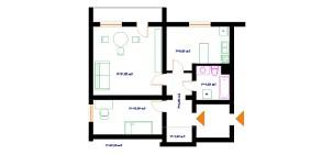 Mieszkanie na sprzedaż Białystok Leśna Dolina ul. Armii Krajowej – 52.3 m2