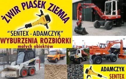 wymiana gruntu Olsztyn korytowanie prace usługi ziemne w Olsztynie