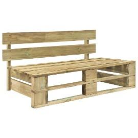 vidaXL Ogrodowa ławka z palet, drewno 44694
