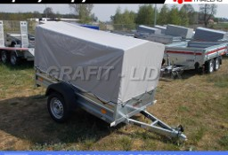 LTK-11 przyczepa + plandeka 200x106x112cm, lekka, towarowa, DMC 750kg