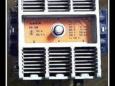 stycznik ASEA ; EG 160 ; 160A-1