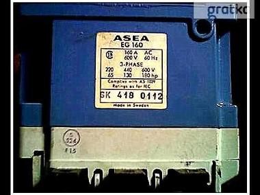 stycznik ASEA ; EG 160 ; 160A-2
