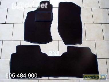 Nissan Terrano II 1993-2007 najwyższej jakości dywaniki samochodowe z grubego weluru z gumą od spodu, dedykowane Nissan Terrano-1