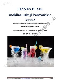 BIZNESPLAN mobilne usługi barmańskie (przykład)