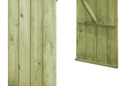 vidaXL Stół barowy, 130x60x110 cm, impregnowane drewno sosnowe 44900