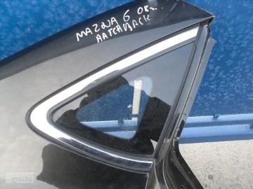MAZDA 6 SZYBA TYLNA PRAWA BOCZNA TRÓJKĄT HATCHBACK 2008-2012 Mazda 6