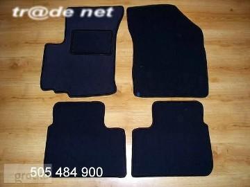 Suzuki Ignis od 2003 do 2017 r. najwyższej jakości dywaniki samochodowe z grubego weluru z gumą od spodu, dedykowane Suzuki Ignis