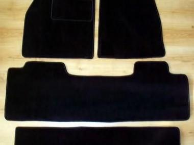 Mazda CX-9 od 2007 r. 3 rzędy najwyższej jakości dywaniki samochodowe z grubego weluru z gumą od spodu, dedykowane Mazda CX-9-1