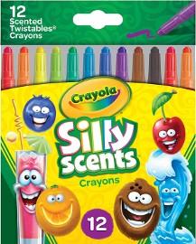 Zapachowe Kredki Crayola Wykręcane 12 Kolorów