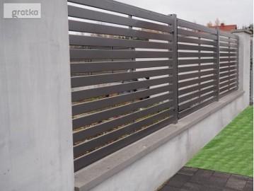 Przęsło ogrodzeniowe P12e ceownik 100x10 oc+kolor