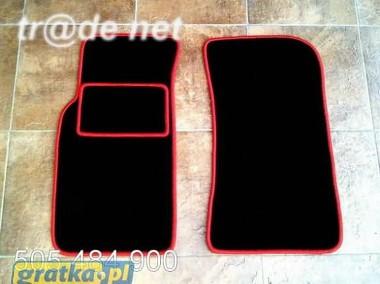 Mazda MX-5 II 1999-2004 najwyższej jakości dywaniki samochodowe z grubego weluru z gumą od spodu, dedykowane Mazda MX-5-1