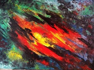 Kompozycja Abstrakcyjna -2