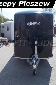 DB-006, bagażowa, do motocykli 300x150x190cm, ściany ze sklejki, hamowana Debon Cheval Liberte Fourgon C300 + drzwi boczne Cheval Liberte-2