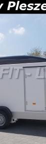 DB-006, bagażowa, do motocykli 300x150x190cm, ściany ze sklejki, hamowana Debon Cheval Liberte Fourgon C300 + drzwi boczne Cheval Liberte-3