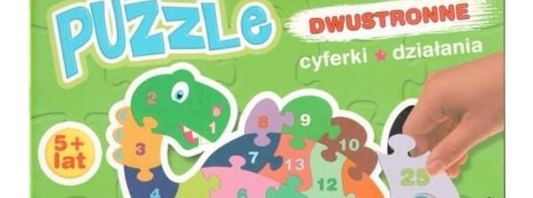 Puzzle dwustronne cyferki działania Piotr Kozera-1