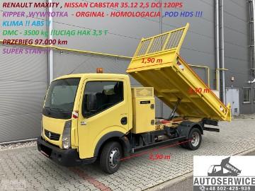 Nissan Cabstar CABSTAR NT400 MAXITY KIPPER WYWROTKA POD HDS HOMOL