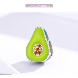 Pandora Charm koralik avokado awokado gruszka owoce