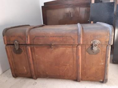 Antyczny kufer podróżny-1