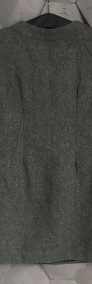 Szara sukienka rozm S-4