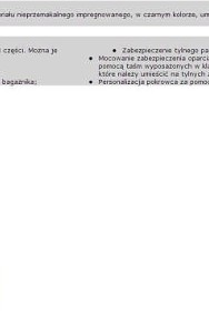 POKROWIEC BAGAŻNIKA ref. 1607075780 C4 PICASSO Citroen C4-2