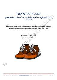 BIZNESPLAN produkcja butów wełnianych – rękodzieło (przykład) 2017