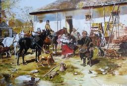 Przed polowaniem - W.Kowal - wg.J.Brandta