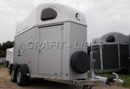 CL-31 Cheval Liberte Gold Aluminium, przyczepa do przewozu 2 koni, szer. 1,67m, dach biały, DMC 2000kg Cheval Liberte