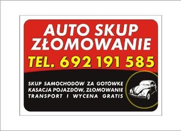 Kupię każde auto bez wyjątku Kędzierzyn-Koźle Opole Krapkowice Tel : 692 191 585