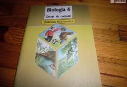 Biologia 4 zeszyt ćwiczeń-Klimuszko