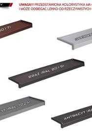 Parapety stalowe metalowe parapety WEWNĘTRZNE I ZEWNĘTRZNE w super cen-2