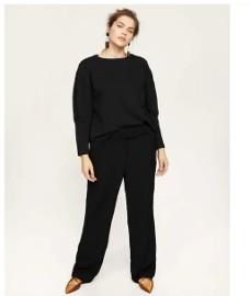 Nowa bluza Mango M oversize czarna bufki bufiaste rękawy czerń