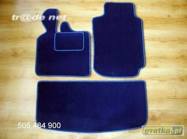 Smart ForTwo I 1998-2003 2 osobowy z bagażnikiem najwyższej jakości dywaniki samochodowe z grubego weluru z gumą od spodu, dedykowane Smart ForTwo-1