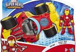 Figurka IRON MAN 12cm i Pojazd Auto AVENGERS SUPER HERO