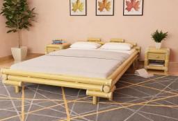 vidaXL Rama łóżka, bambusowa, 140 x 200 cm 247290