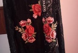 (42/XL) Firmowe, zmysłowe, koronkowo-haftowane body z Londynu/NOWE