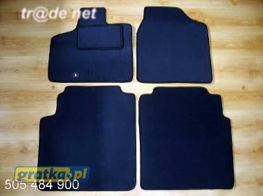 Lancia Voyager od 2012 2 rzędy siedzenia chowane w podłogę najwyższej jakości dywaniki samochodowe z grubego weluru z gumą od spodu, dedykowane Lancia-1